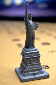 Statue of Liberty (SLA printed)